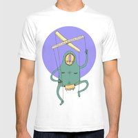 Puppet Mens Fitted Tee White SMALL