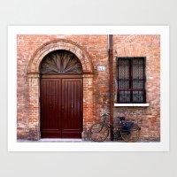 Door Series (6) Art Print