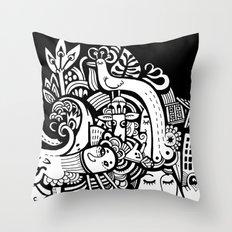 Puisto Throw Pillow