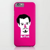iPhone & iPod Case featuring Mr pink by quibe