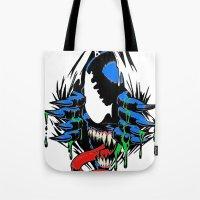 Ripped Venom  Tote Bag