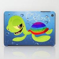 Chillaxin' Turtle iPad Case