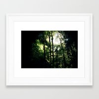 Inside the Cave Framed Art Print