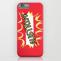 iPhone Cases featuring Austria by mailboxdisco
