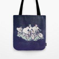 Ghost Race Tote Bag