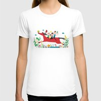 Happy Horse Womens Fitted Tee White SMALL