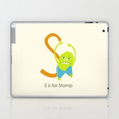 S is for Stomp Laptop & iPad Skin