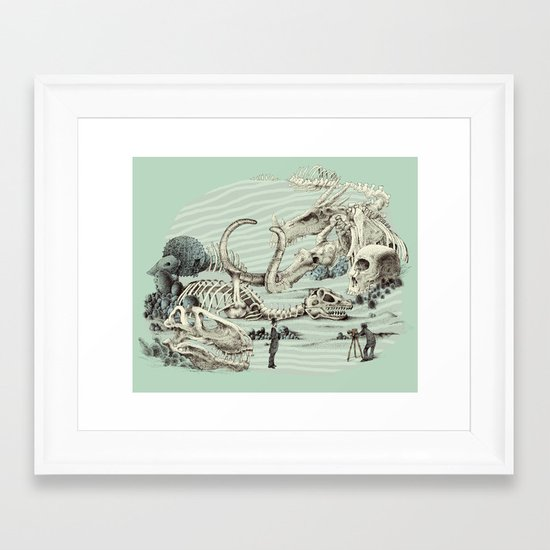 The Lost Beach Framed Art Print