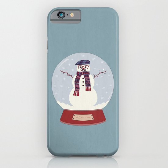 Let it snow, man! iPhone & iPod Case