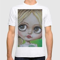 Sookie Stackhouse Blythe Doll  Mens Fitted Tee Ash Grey SMALL