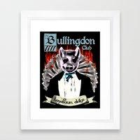 the Bullingdon Club Framed Art Print