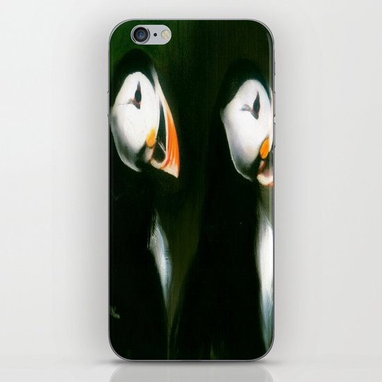 PUFFIN PARADE iPhone & iPod Skin