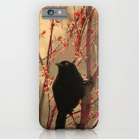 iPhone & iPod Case featuring Grackle  by The Strange Days Of Gothicolors