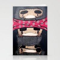 Pirate Totem. Stationery Cards