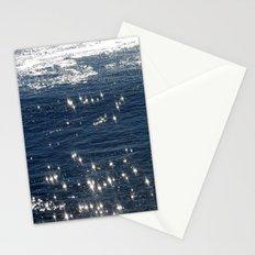 sparkling ocean Stationery Cards
