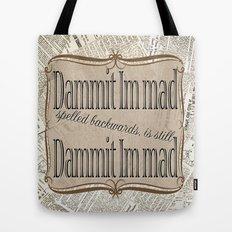Im Mad Tote Bag