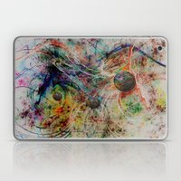 painting marbles Laptop & iPad Skin