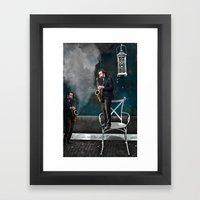 Dream and play Framed Art Print