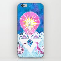 Sun Of God iPhone & iPod Skin