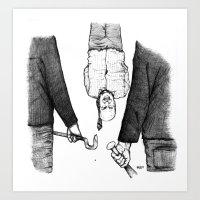Explication Avec Le Banq… Art Print