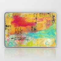 Mixed Media Abstract 1 Laptop & iPad Skin