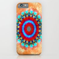 iPhone & iPod Case featuring Go Back In Time - Mandala by Brian Raggatt
