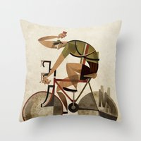 maino55 Throw Pillow