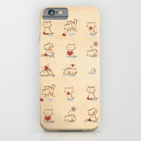 Cats and hearts iPhone 6 Slim Case