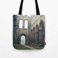 Gloomy Abbey Tote Bag