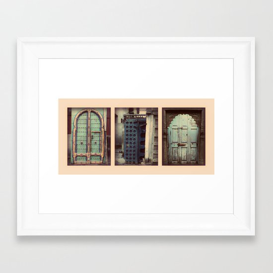 All ways are your ways, your majesty! Framed Art Print