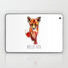 Cute Little Red Fox water colour ink Laptop & iPad Skin