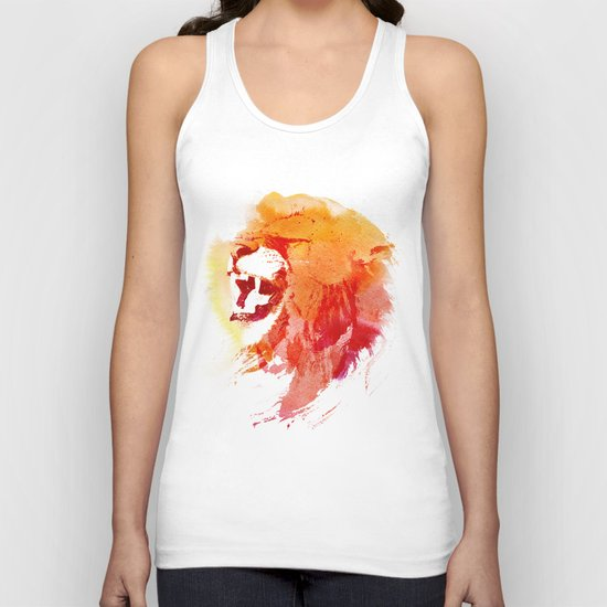 Angry Lion Unisex Tank Top