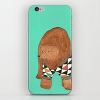 A bear in a sweater iPhone & iPod Skin