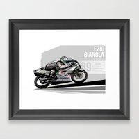 Ezio Gianola - 1989 Suzu… Framed Art Print