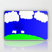 Watching The Clouds Go B… Laptop & iPad Skin