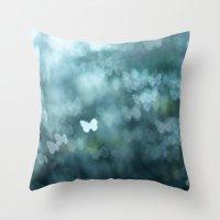 Flutter By Me Throw Pillow