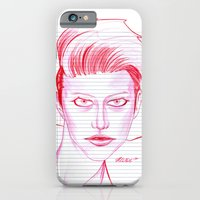 Fashion Hair With Loose … iPhone 6 Slim Case