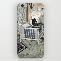 Empty Chair iPhone & iPod Skin