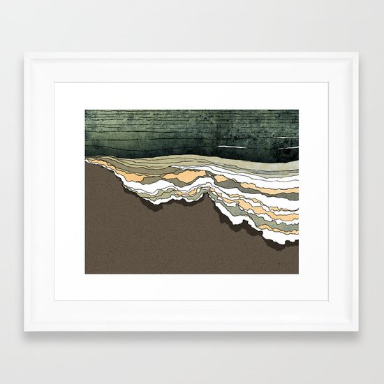 Breakthrough Framed Art Print