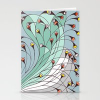 lights Stationery Cards featuring lights by colli1.3designs