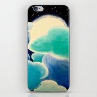Blue Night iPhone & iPod Skin