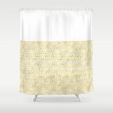 Riverside Gold Shower Curtain