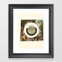 Worldview Framed Art Print