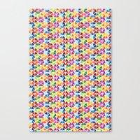 Tessellating Triangles Canvas Print