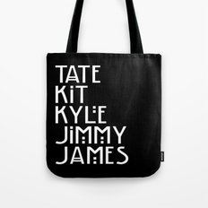 American Horror Names Tote Bag
