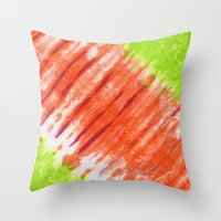 Pleated And Laced Throw Pillow