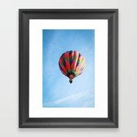 Lighter Than Air - Balloon  Framed Art Print