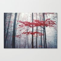 Woodland Fantasy Canvas Print