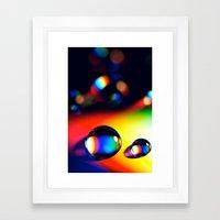 Da Funk Framed Art Print