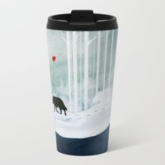 WOLF - A Love Always Carried  Travel Mug
